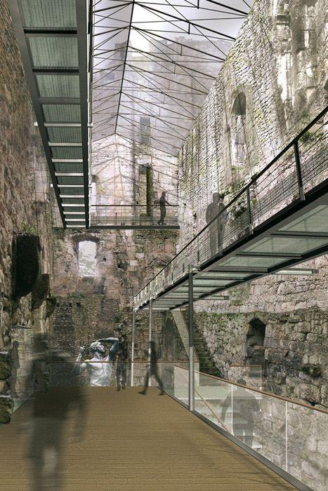 architectes-bordeaux.com - Equipements publics divers : La Greffe Architecturale – Reconversion du Château Barrière à Périgueux (24) - Périgueux
