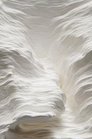 snow looks like whipped cream