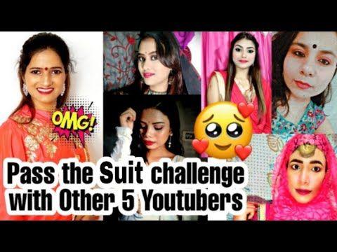 Don T Rush Challenge Pass The Suit Challenge Tiktok Challenge 6 Indian Youtubers On Trending Youtube Challenges Youtubers Suits