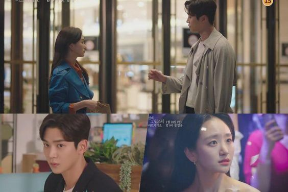"""Watch: SF9's Rowoon Asks Won Jin Ah's Opinion On Office Romance In """"She Would Never Know"""" Teaser"""