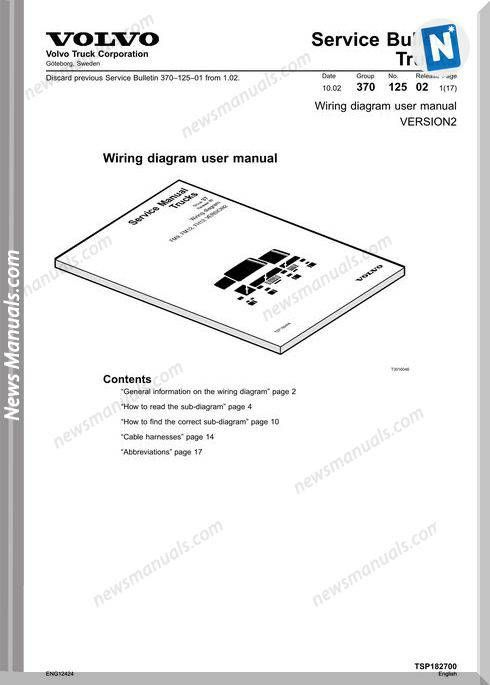 Volvo D13 Wiring Diagram