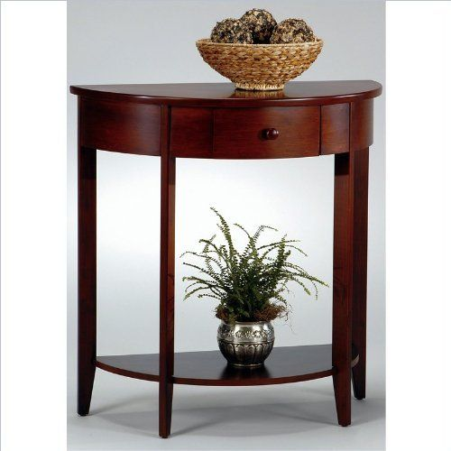 Foyer Table Half Moon : Hall console table accent tables and on