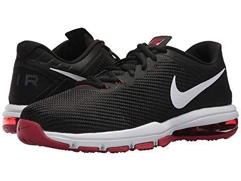 Nike Air Max Full Ride Tr Black White Tough Red Nike Shoes