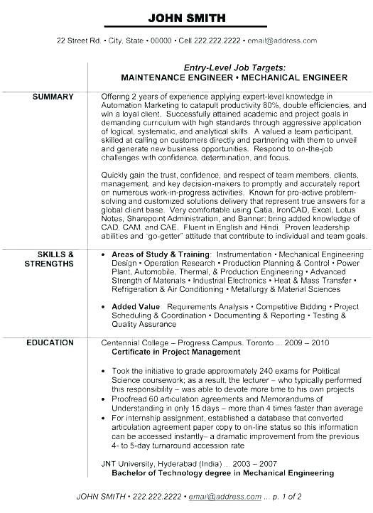 Experienced Engineer Resume Sample Experienced Instrumentation Engineer Resume Samples Administrative Assistant Resume Business Analyst Resume Resume Examples