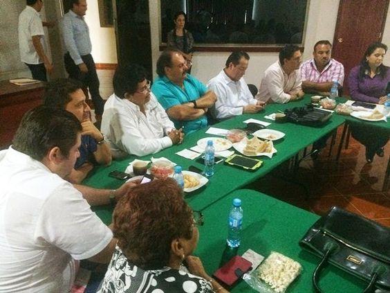 Periodismo sin Censura: REUNIÓN PREPARATORIA DE AUTORIDADES RUMBO AL PRÓXI...