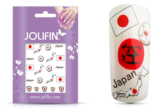WM Japan Nägel Bemalung