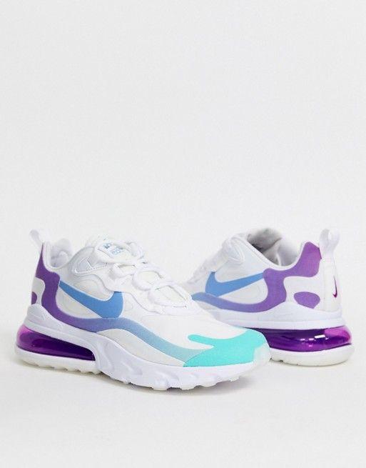 air max bleu et violet