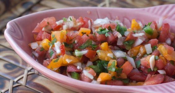 Heirloom Tomato Pico de Gallo | Culinary Adventures | Pinterest | Pico ...