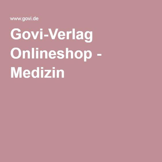 Govi-Verlag Onlineshop - Medizin