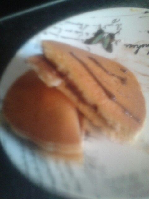 I made delicious pancakes.#hell yea
