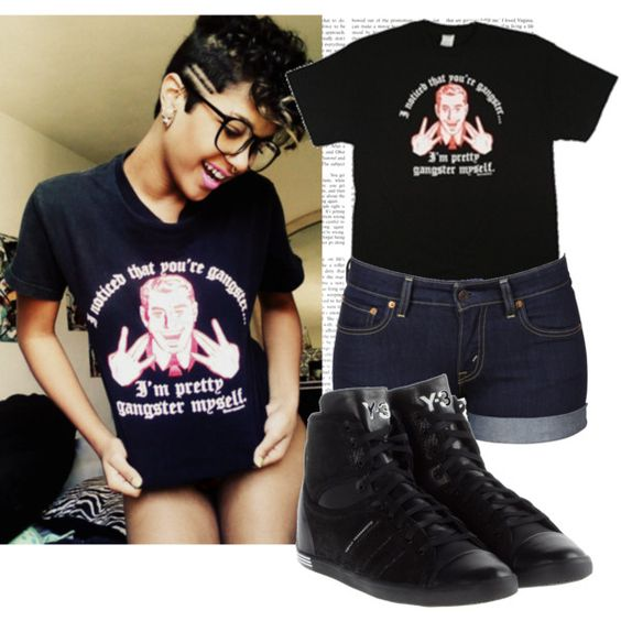 """""""I'm a gangster b***h!"""" by cheerstostyle on Polyvore"""