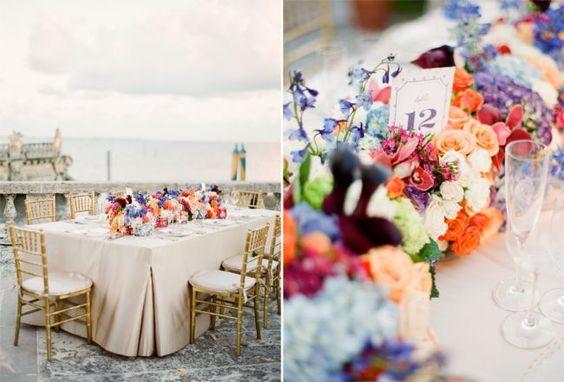 Las 30 ideas más extraordinarias para decorar las mesas del banquete de bodas 2016 Image: 7