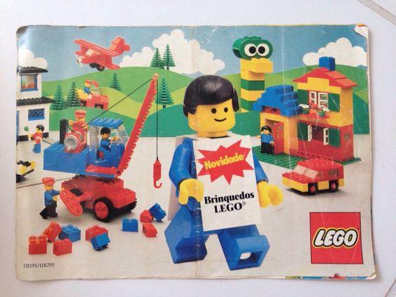 Catalogo Lego Anos 80 - R$ 35,00 no MercadoLivre