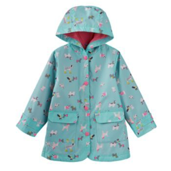 Carter&39s Printed Rain Jacket - Toddler Girl | Girl&39s Outerwear