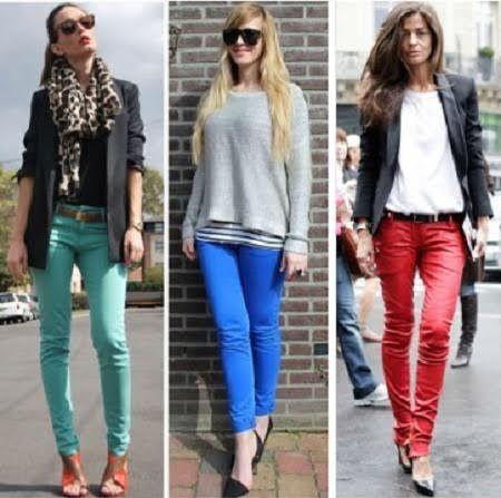 Tipos de calças
