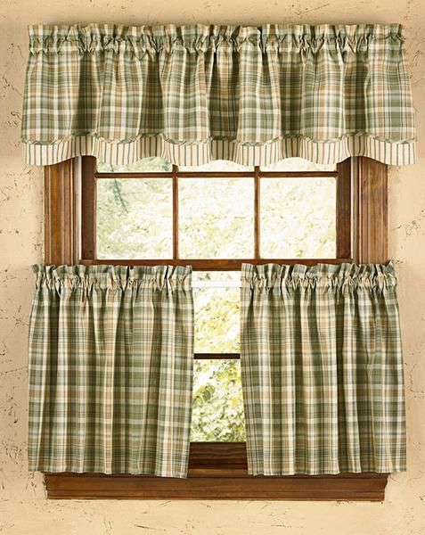Rosemary Lined Layered Valance Country Style Curtains Country Kitchen Curtains Valance Curtains