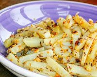 Batata Picante com Sementes de Cominho e Amendoim