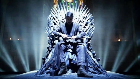 My Petyr on the Iron Throne.