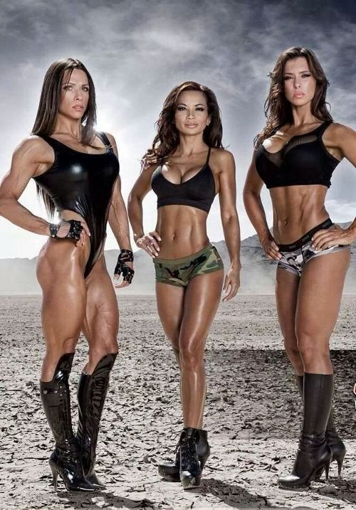 Fitness Chicks, Motivation, And Sexy Gym Babes! Click For