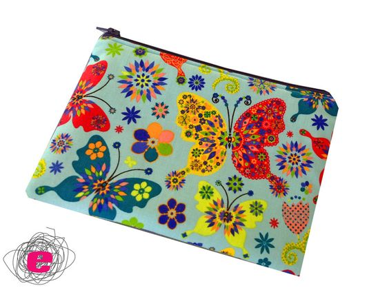EReader Tasche, Ebook Reader Hülle, Schmetterlinge von Fadenelemente auf DaWanda.com