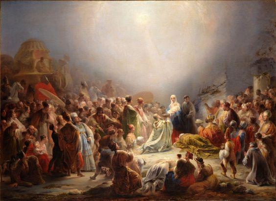 Adoração dos Magos Domingos Sequeira