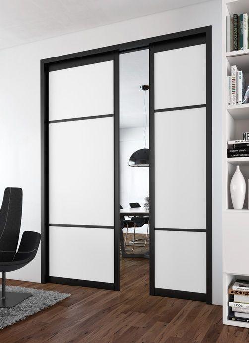 Portes coulissantes placards / dressings / pièces Sogal® | Portes ...