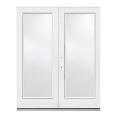 72 In X 80 In White Right Hand French 1 Lite Patio Door Home Depot Eventual Sunroom