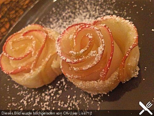 Apfelrosen, ein tolles Rezept aus der Kategorie Backen. Bewertungen: 11. Durchschnitt: Ø 4,3.