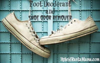 Foot Deodorant and Shoe Odor Remover - Hybrid Rasta Mama