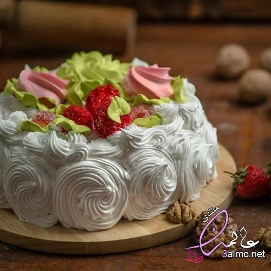 اجمل مجموعة تورتات 2020 تحميل تورتة عيد ميلاد Cake Heart Cakes Desserts