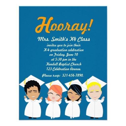 Elementary graduation invitation or announcement 5th grade graduation pinterest graduation for 5th grade graduation ideas