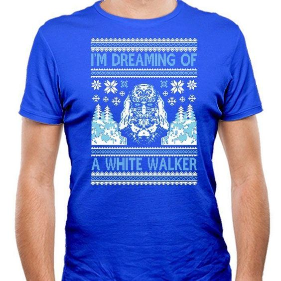 I'm Dreaming of a White Walker - Men's Fitted T-Shirt