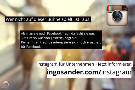 Instagram für Unternehmen — Ingo Sander   com