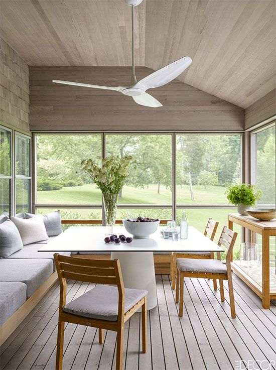Yay Or Nay Ceiling Fan Over The Dining Table Rustic Dining Room