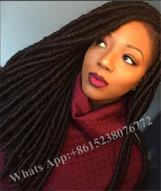 Soft Dread Crochet Hair Styles : ... Soft Dread Lock Curly Hair Braids False Hair Weave soft dread nina