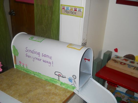 preschool mailbox classroom mailboxes to read and the end on 165