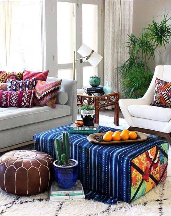 Here's How This Designer Infuses Color in Her Home with Just One Thing. Take a Guess! - dress your home - best interior design blog, home decor blog featuring Indian interior designers and architects, Bangalore