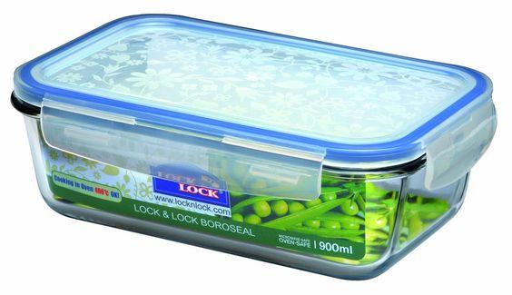 Lock & Lock LLG441 Multifunktionsbox Boroseal 900ml: Amazon.de: Küche & Haushalt