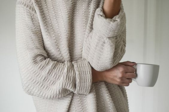 Thinking of the woman you adore wearing nothing but a big comfy sweater! *wink*
