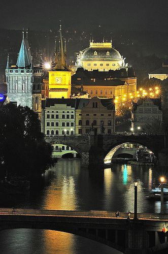 Charles Bridge and and National Theatre in Prague | Flickr - Photo Sharing!