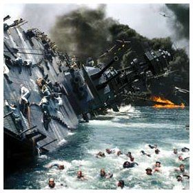 USS Arizona - Pearl Harbor - December 7, 1941. So tragic - stuff of nightmares. This shot speaks a thousand words!