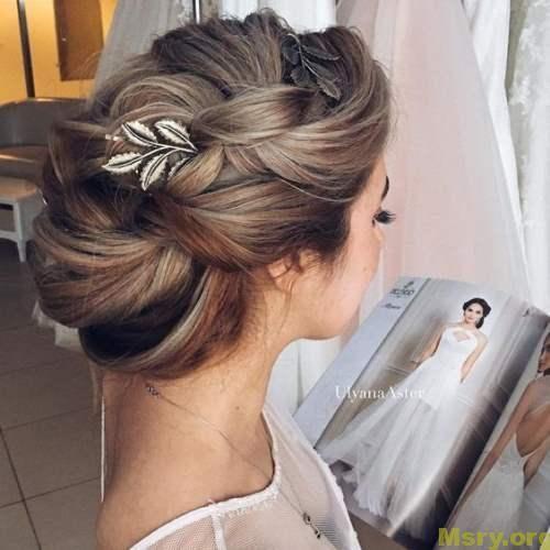 صور قصات الشعر المشهورة واجمل تسريحات شعر البسيطة Wedding Hair Inspiration Bride Hairstyles Bridal Hair