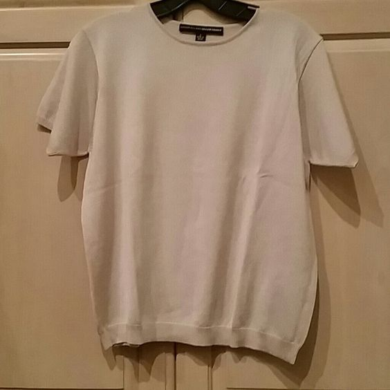 Ellen Tracy silk top Soft and stretchy ivory color Ellen Tracy Tops Blouses