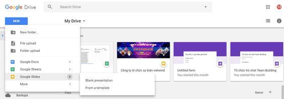 Hướng dẫn tạo website bằng google sites