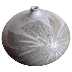 "David Cressey Studio Pottery ""Earthgender"" Weed Vase"