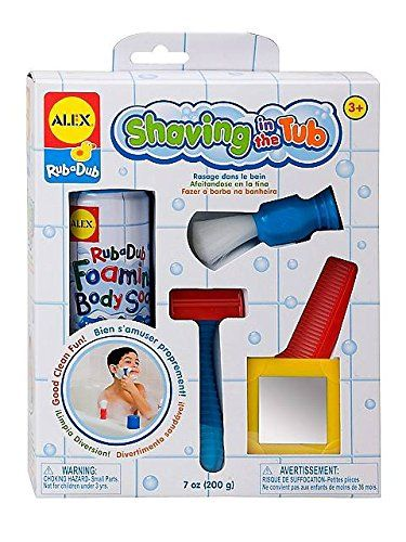 Rub A Dub Shaving In The Tub Shaving Kit, 2015 Amazon Top Rated Bath Toys #Toy