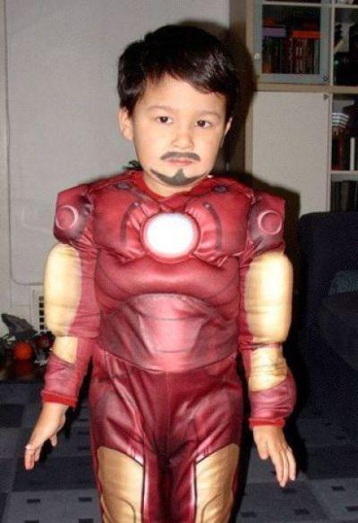 baby Tony Stark.