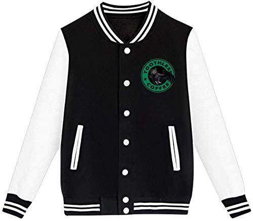 New Youth Toothless Letterman Jacket Varsity Baseball Bomber Cotton Jacket Online Shopping Fleece Varsity Jacket Baseball Varsity Jacket Hooded Jacket Kids