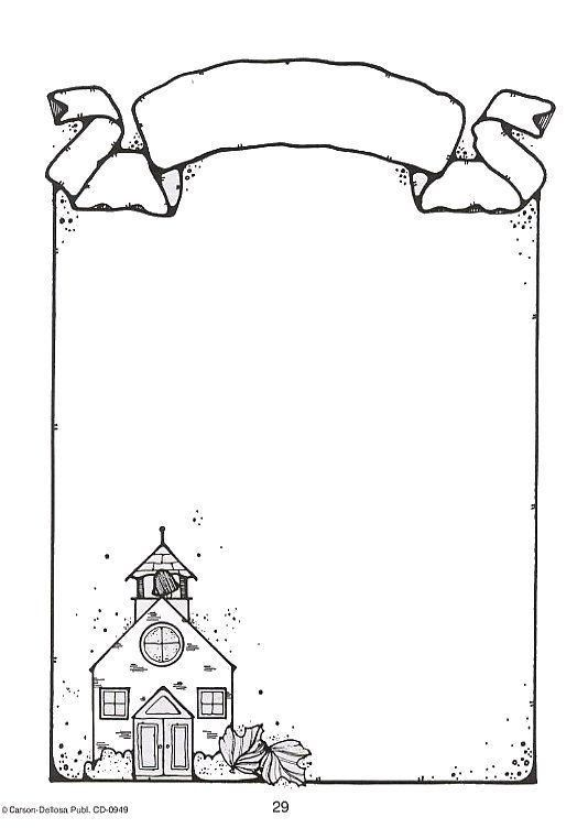 Pin By Hilal On Border Clip Art Borders Page Borders Design Coloring Pages