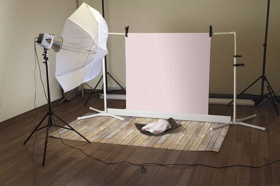 Amazon.com - Ella Bella Photography Backdrop Paper, 4'x12', Vintage Wood - Photo Studio Backgrounds